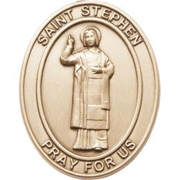 Saint Stephen the Martyr<br>6804V - 1 1/2 x 1 1/4<br>Visor Clip