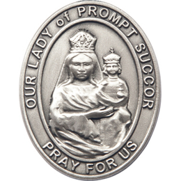 Our Lady of Prompt Succor<br>Visor Clip - 6999V