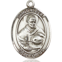St Albert the Great<br>Oval Patron Saint Series<br>Available in 3 Sizes