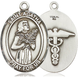 St Agatha Nurse<br>Available in 2 Sizes