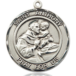 St Anthony of Padua<br>Round Patron Saint Series<br>Available in 2 Sizes
