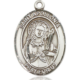 St Apollonia<br>Oval Patron Saint Series<br>Available in 3 Sizes