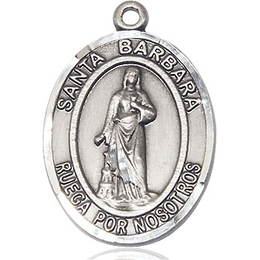 Santa Barbara<br>Oval Patron Saint Series