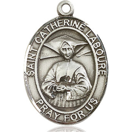 St Catherine Laboure<br>Oval Patron Saint Series<br>Available in 3 Sizes