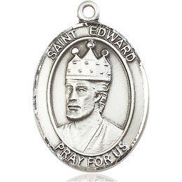 St Edward the Confessor<br>Oval Patron Saint Series<br>Available in 3 Sizes