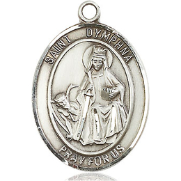 St Dymphna<br>Oval Patron Saint Series<br>Available in 3 Sizes