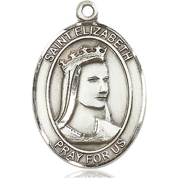 St Elizabeth of Hungary<br>Oval Patron Saint Series<br>Available in 3 Sizes