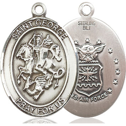 St George Air Force<br>Oval Patron Saint Series<br>Available in 2 Sizes