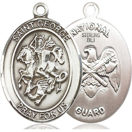 St George National Guard<br>Oval Patron Saint Series<br>Available in 2 Sizes