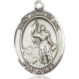 St Joan of Arc<br>Oval Patron Saint Series<br>Available in 3 Sizes