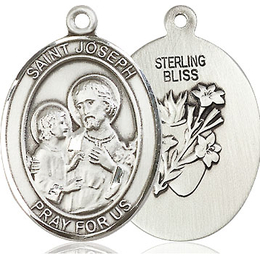 St Joseph<br>Oval Patron Saint Series<br>Available in 2 Sizes