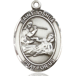 St Joshua<br>Oval Patron Saint Series<br>Available in 3 Sizes