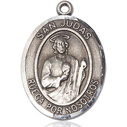 San Judas<br>Oval Patron Saint Series