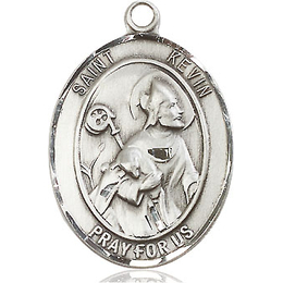 St Kevin<br>Oval Patron Saint Series<br>Available in 3 Sizes
