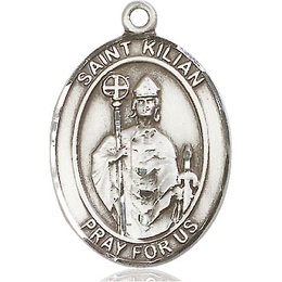 St Kilian<br>Oval Patron Saint Series<br>Available in 3 Sizes