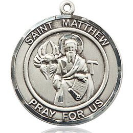 St Matthew the Apostle<br>Round Patron Saint Series<br>Available in 2 Sizes
