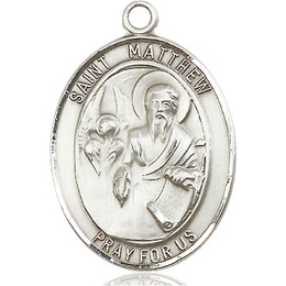 St Matthew the Apostle<br>Oval Patron Saint Series<br>Available in 3 Sizes