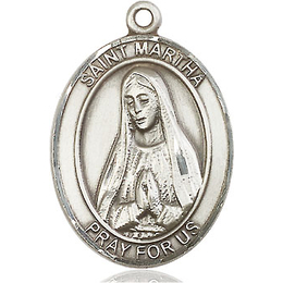 St Martha<br>Oval Patron Saint Series<br>Available in 3 Sizes