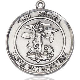 San Miguel Arcangel<br>Round Patron Saint Series
