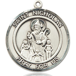 St Nicholas<br>Round Patron Saint Series<br>Available in 2 Sizes