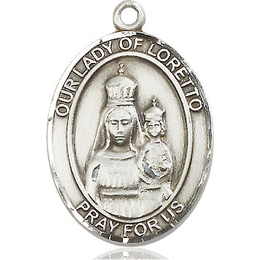 Our Lady of Loretto<br>Oval Patron Saint Series<br>Available in 3 Sizes