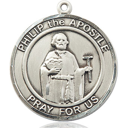 Philip The Apostle<br>Round Patron Saint Series<br>Available in 2 Sizes