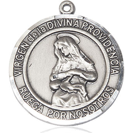 Virgen Divina Providencia<br>Round Patron Saint Series