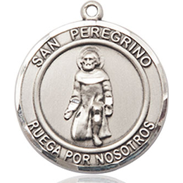 San Peregrino<br>Round Patron Saint Series
