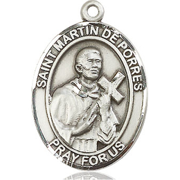 St Martin de Porres<br>Oval Patron Saint Series<br>Available in 3 Sizes