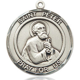 St Peter the Apostle<br>Round Patron Saint Series<br>Available in 2 Sizes