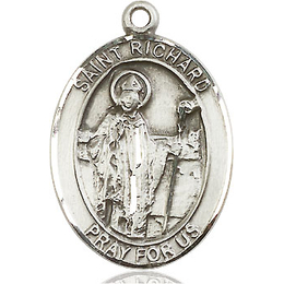 St Richard<br>Oval Patron Saint Series<br>Available in 3 Sizes