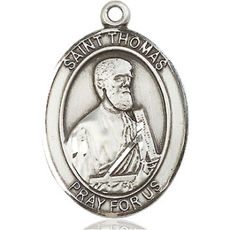 St Thomas the Apostle<br>Oval Patron Saint Series<br>Available in 3 Sizes