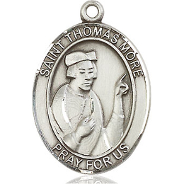 St Thomas More<br>Oval Patron Saint Series<br>Available in 3 Sizes