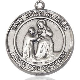 San Juan de Dios<br>Round Patron Saint Series