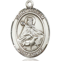 St William of Rochester<br>Oval Patron Saint Series<br>Available in 3 Sizes