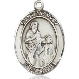 St Zachary<br>Oval Patron Saint Series<br>Available in 3 Sizes