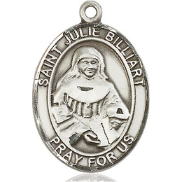 St Julie Billiart<br>Oval Patron Saint Series<br>Available in 3 Sizes