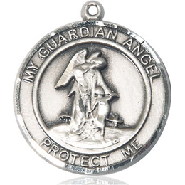 Guardian Angel<br>Round Patron Saint Series<br>Available in 2 Sizes