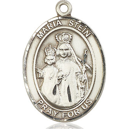 Maria Stein<br>Oval Patron Saint Series<br>Available in 3 Sizes