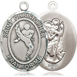 St Christopher Martial Arts<br>Available in 3 Sizes