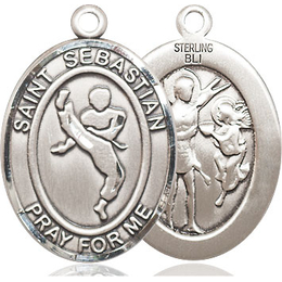 St Sebastian Martial Arts<br>Available in 3 Sizes