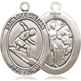 St Sebastian Surfing<br>Available in 3 Sizes