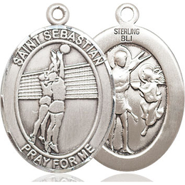 St Sebastian Volleyball<br>Available in 3 Sizes