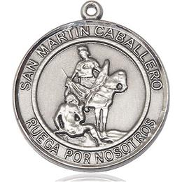 San Martin Caballero<br>Round Patron Saint Series<br>Round Patron Saint Series