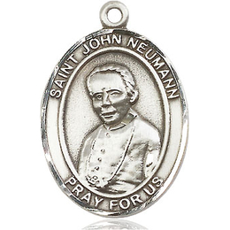 St John Neumann<br>Oval Patron Saint Series<br>Available in 3 Sizes