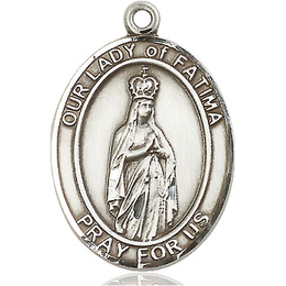 Our Lady of Fatima<br>Oval Patron Saint Series<br>Available in 3 Sizes