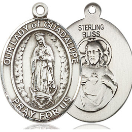 Our Lady of Guadalupe<br>Oval Patron Saint Series<br>Available in 3 Sizes