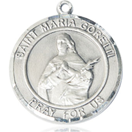 St Maria Goretti<br>Round Patron Saint Series<br>Available in 2 Sizes