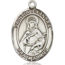 St Alexandra<br>Oval Patron Saint Series<br>Available in 3 Sizes