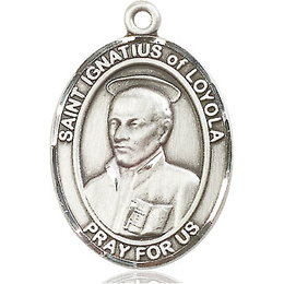 St Ignatius of Loyola<br>Oval Patron Saint Series<br>Available in 3 Sizes